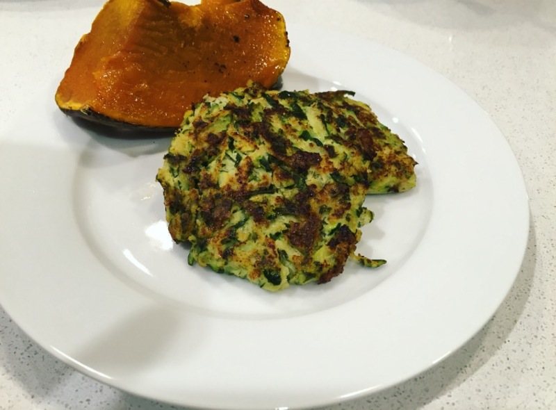 Herby Zucchini Fritters