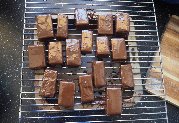 ginger fudge, chocolate covered fudge, caramel fudge, fudge recipe, edible christmas gifts