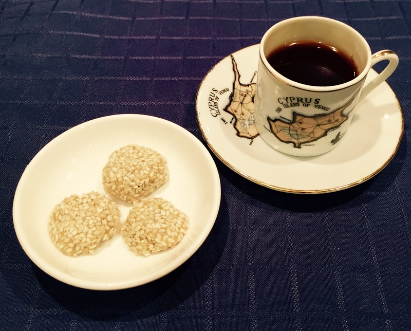 Halva Balls and Greek Coffee