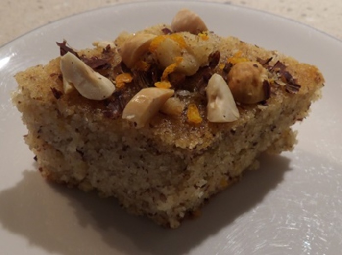 hazelnut,semolina,and,almond,halva