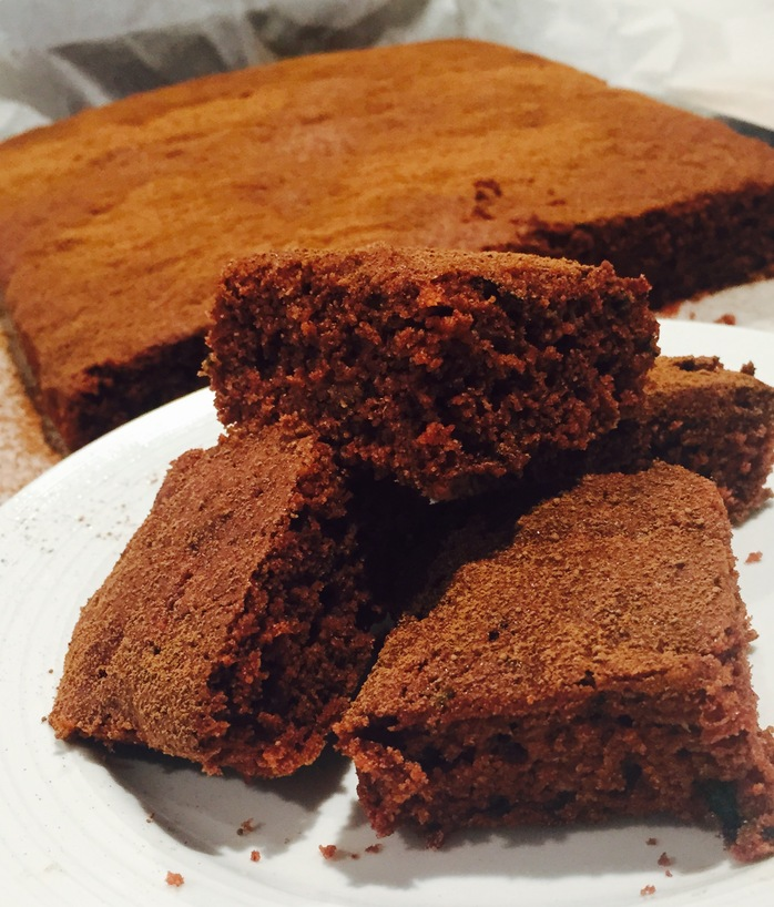 Healthier Chocolate Brownie