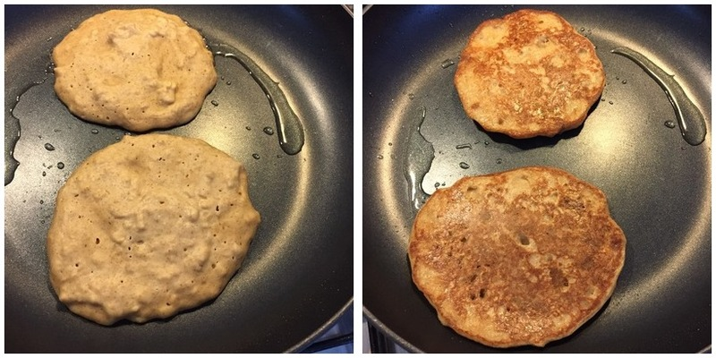 Healthy Hotcakes With Maple Apple Montage - Healthy Hotcakes With Maple Apple