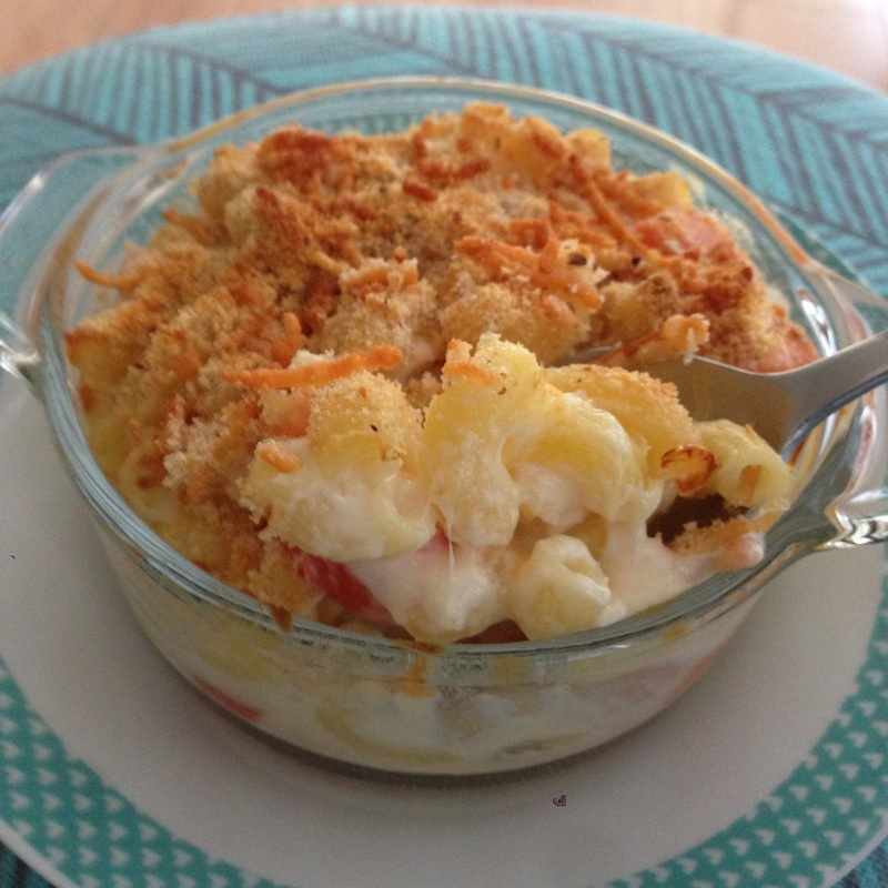 Mighty Macaroni with Cheese & Tomato