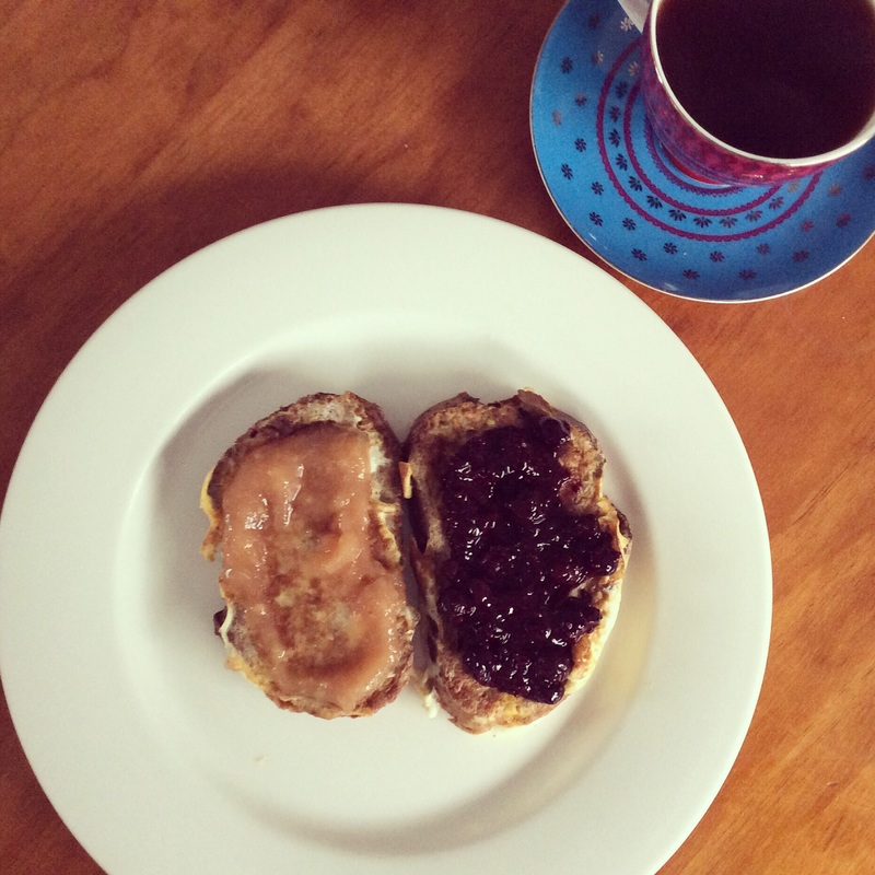 Nutty French Toast With Homemade Jam