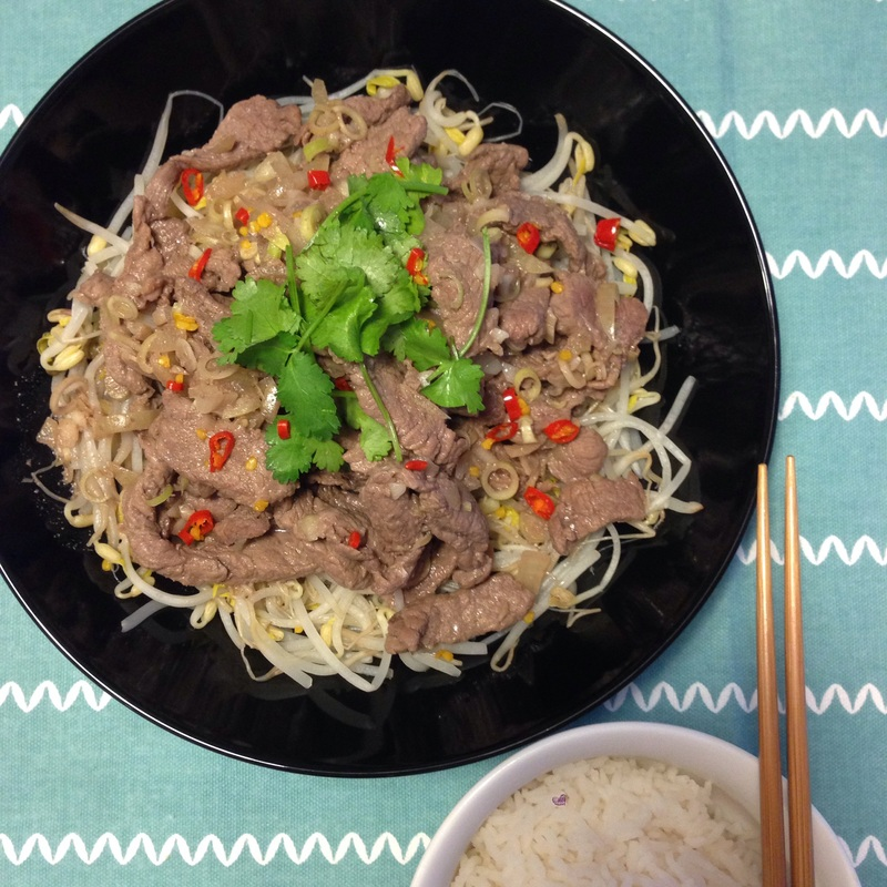 Marinated Lemongrass Beef