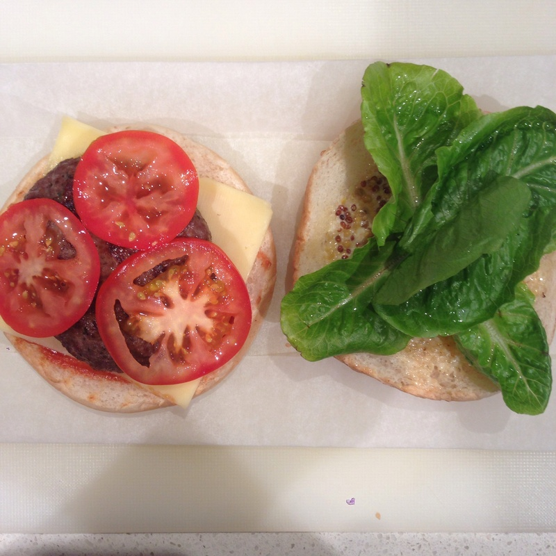 Basil, Sundried Tomato & Fresh Parsley Burger