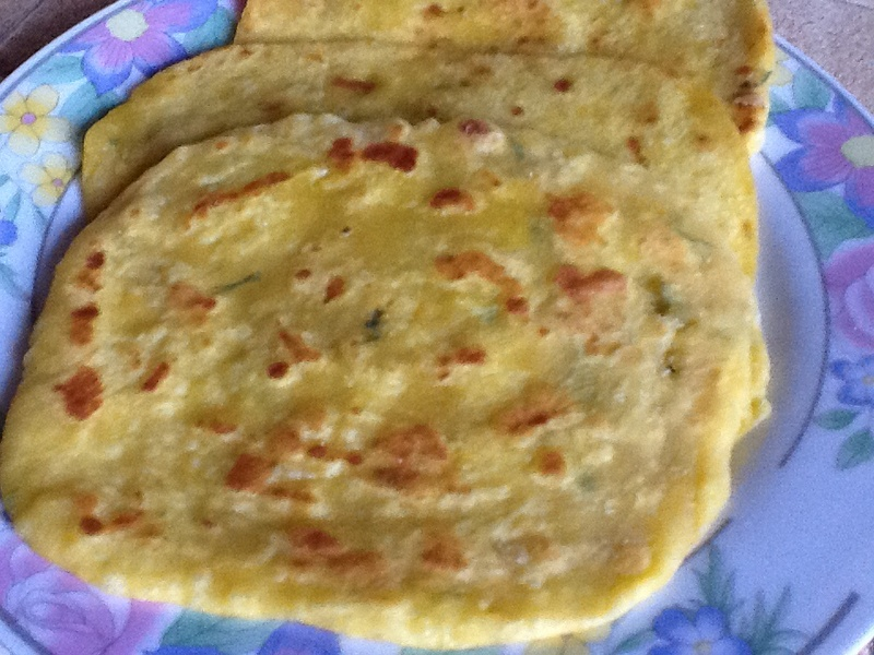 Pumpkin Parathas (Indian Flatbread)
