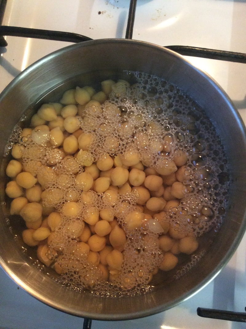 Salt and Vinegar Chickpeas