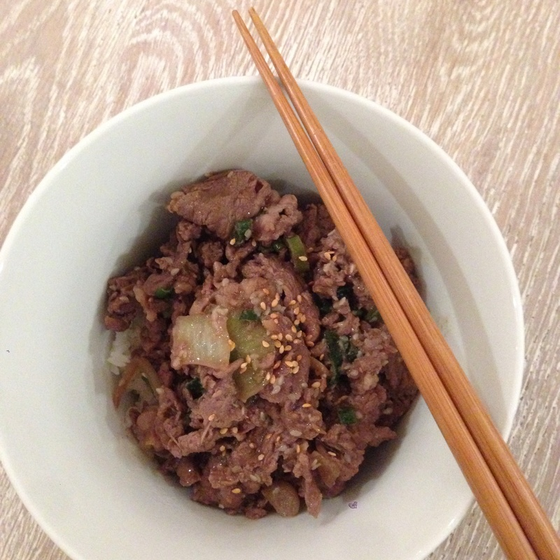 Pan-Fried Bulgogi