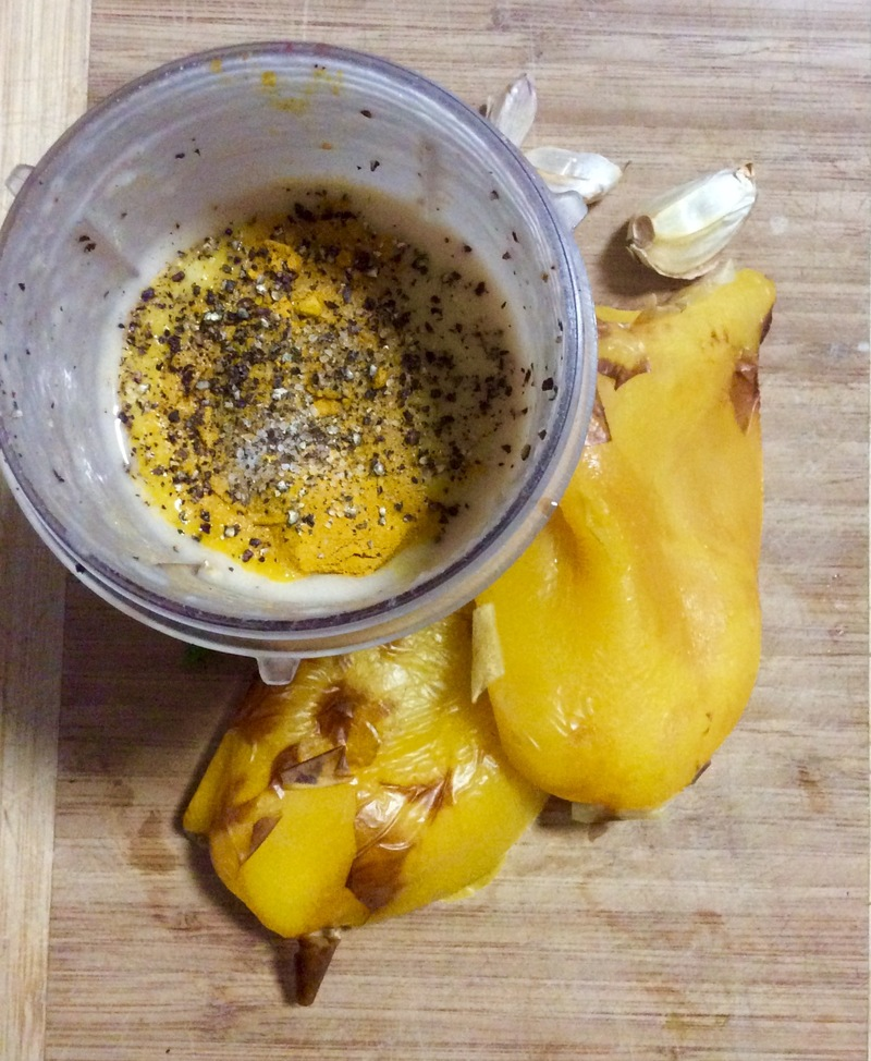 Roasted Yellow Capsicum and Butter Bean Dip