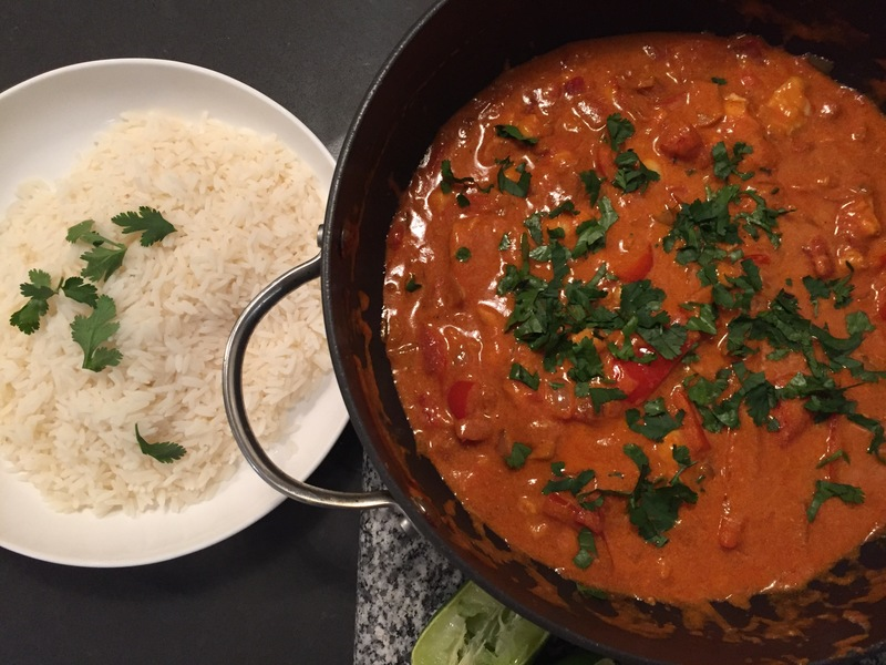 South American Tomato & Coconut Fish Stew