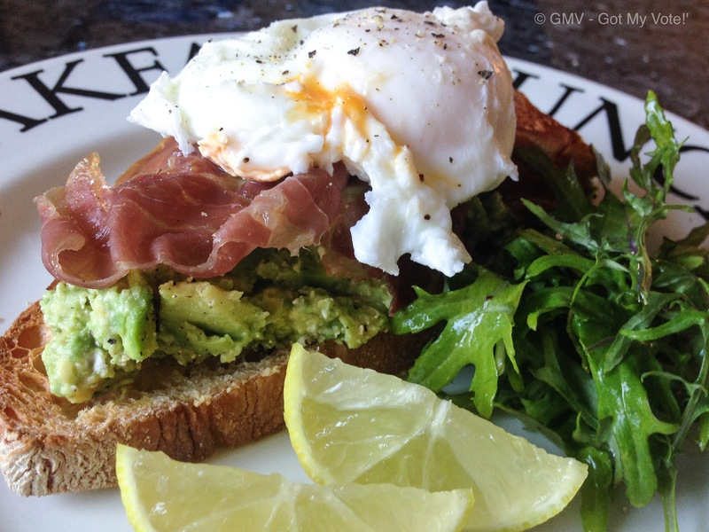 A Smashing Avocado Breakfast