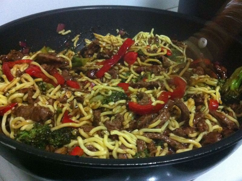 Healthy Beef Stirfry
