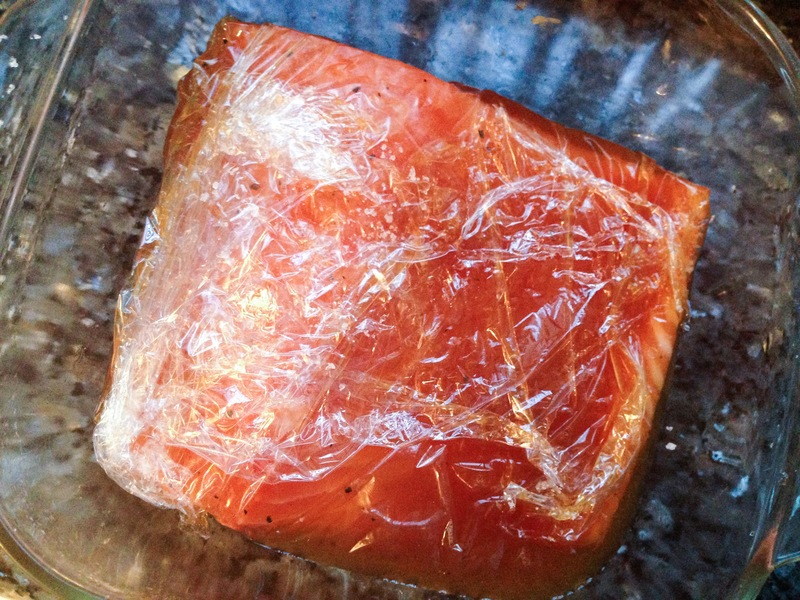 House Pimms-Cured Salmon Gravlax