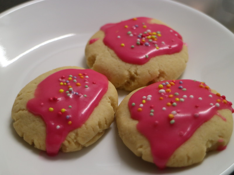 Iced Butter Biscuits