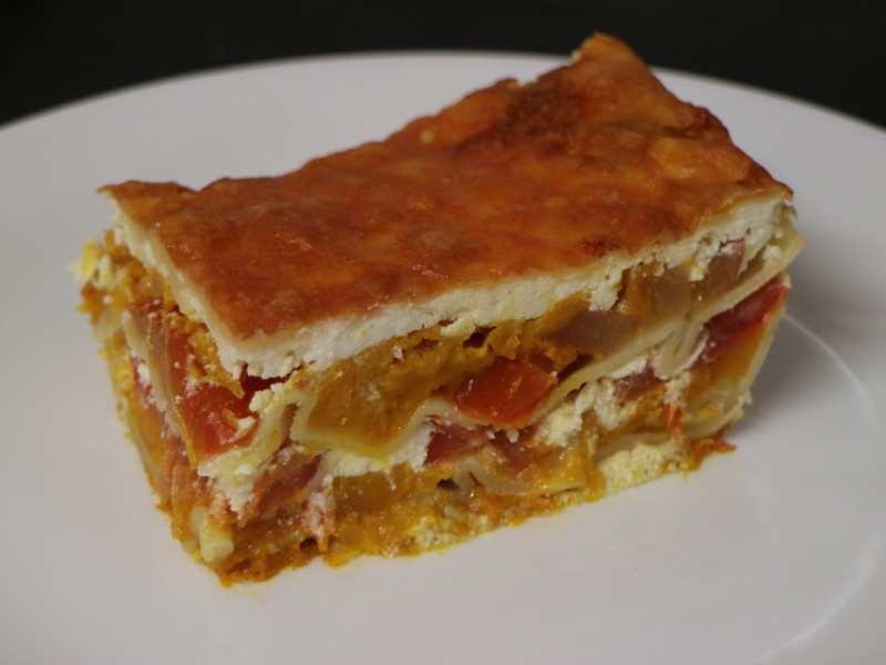Roast Pumpkin And Ricotta Lasagne