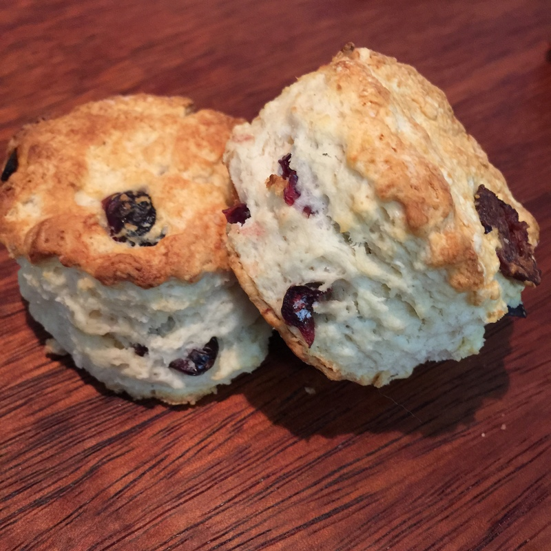 Sweet Cranberry Scones