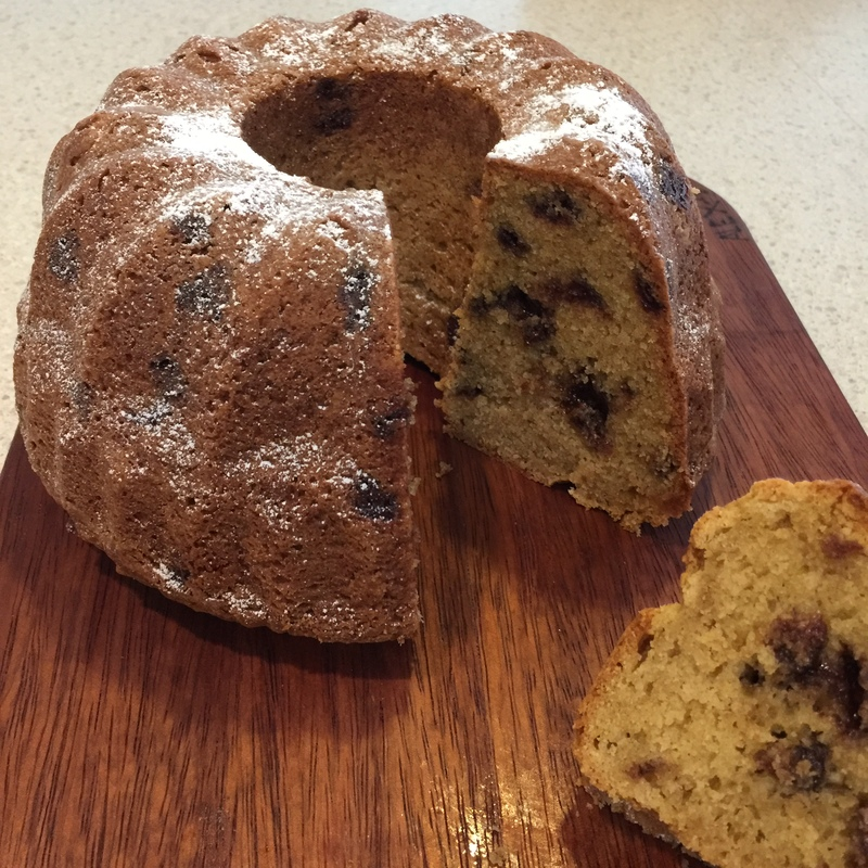 Chocolate Chip Bundt Cake