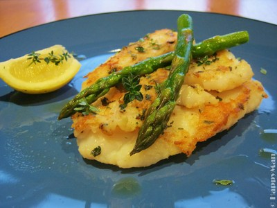 Savoury Basa Fish Fillets With Asparagus Recipe Recipeyum