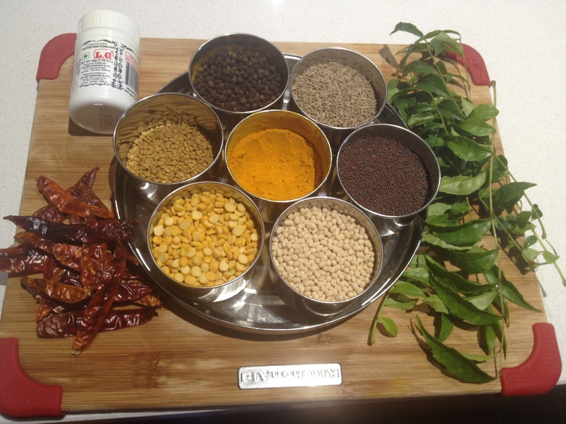 indian spices  - Nuances of Sautéing the Indian Way