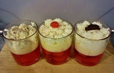 individual trifle portions