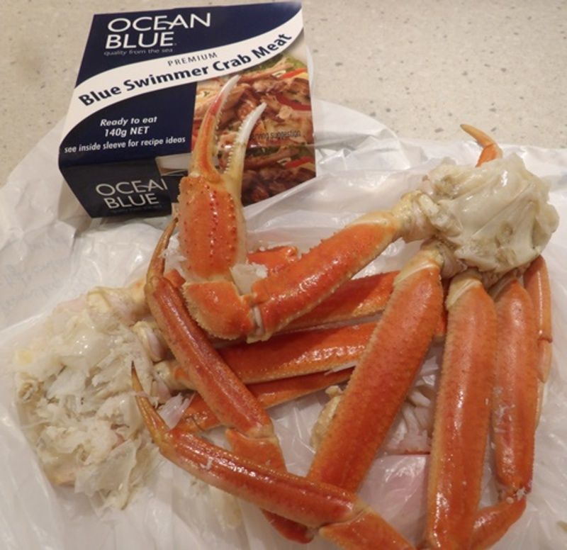 ingredients,for,crab,burgers  - Crab Face Burgers