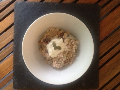 jacaranda creek farmstay cranberry bircher muesli