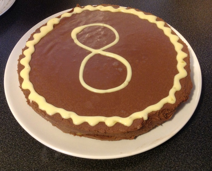 Jaffa chocolate torte