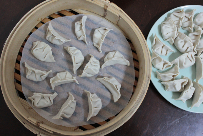 jiaozi, dumplings, pork and cabbage dumplings, chinese dumplings, chinese food