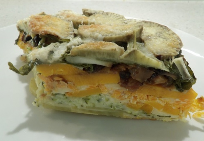 layered,vegetable,bake