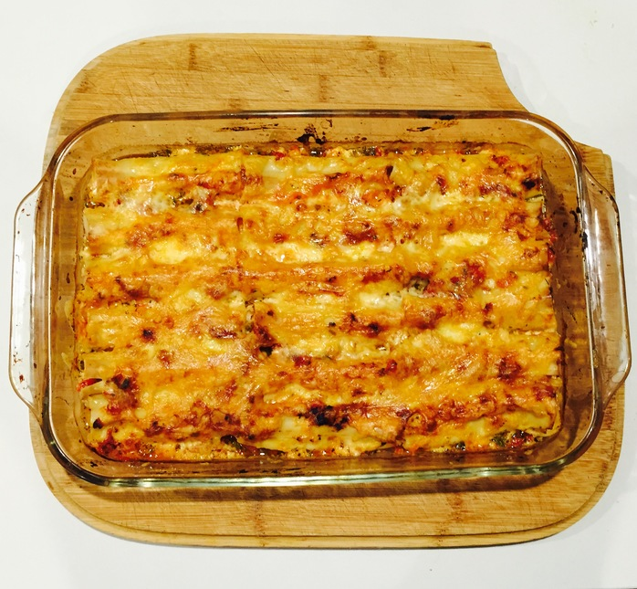Lemon And Oregano Chicken Cannelloni