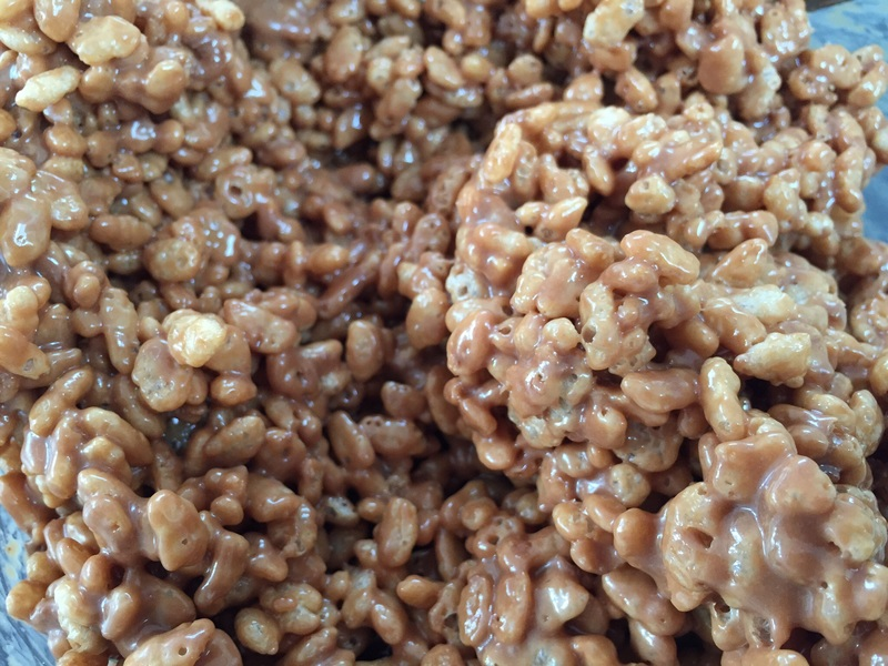 Mars bar, fridge cake, school bake sale 