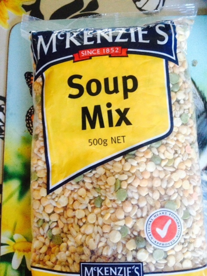 McKenzies soup mix packet