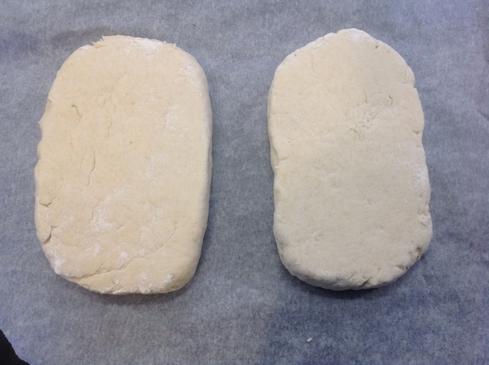Milk fadge dough