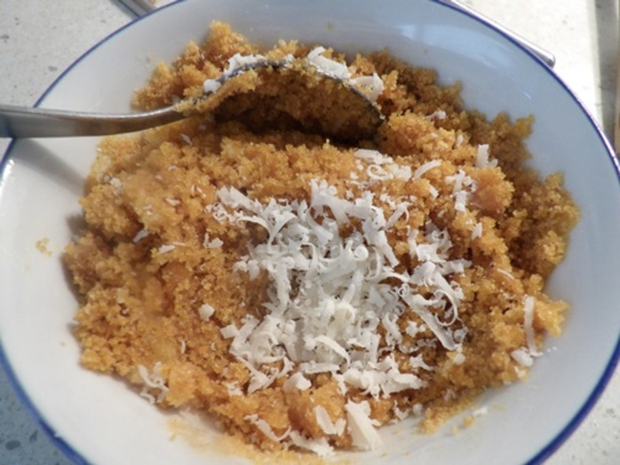 mixing,bread,crumbs,and,cheese