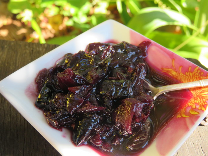 Native plum chutney