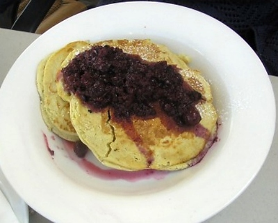 pancakes with berries, berry pancakes, pancake, breakfast