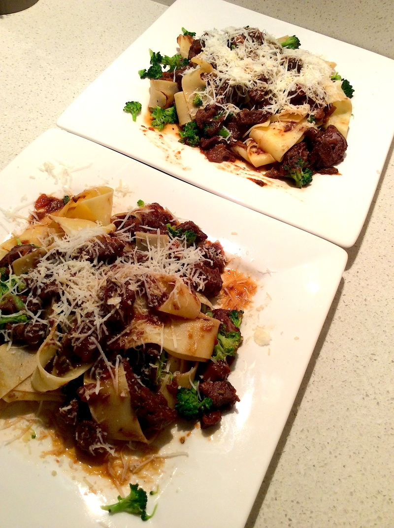 Pappardelle with Duck Ragu