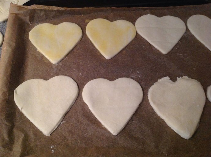 Pastry hearts
