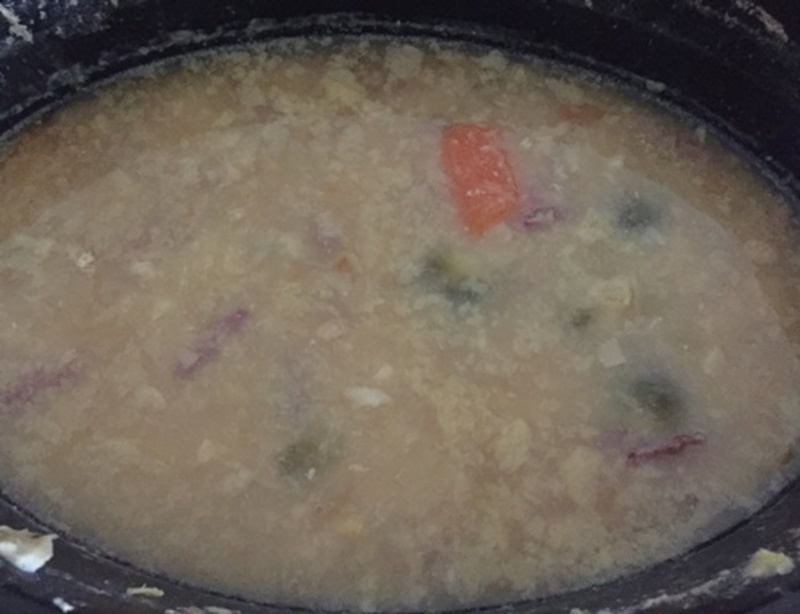 pea,soup,in,slow,cooker  - Pea Soup with Corned Silverside