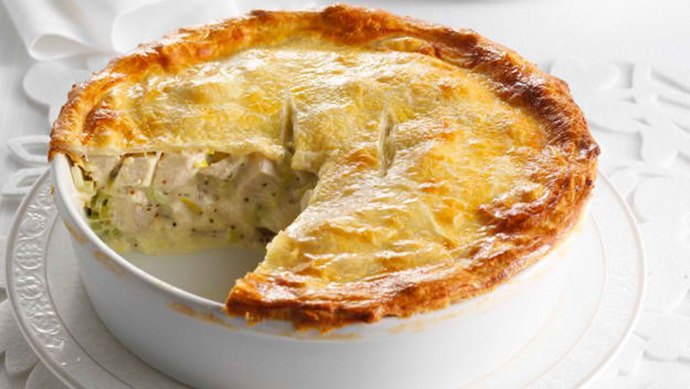 Easy chicken mushroom pie recipes