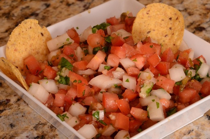 Pico De Gallo, salsa, mexican, fresh
