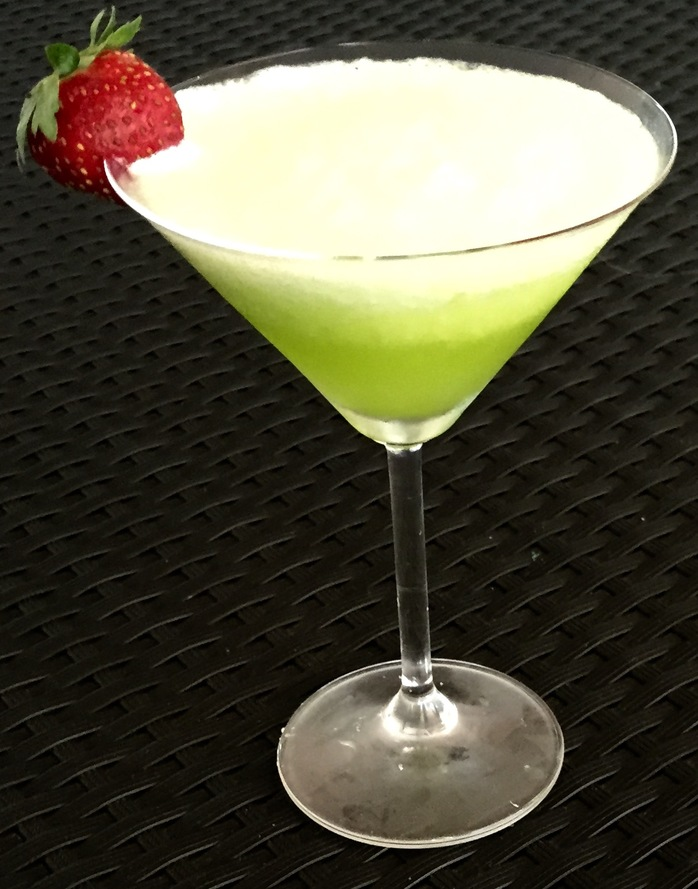 Pine Lime Splice Cocktail