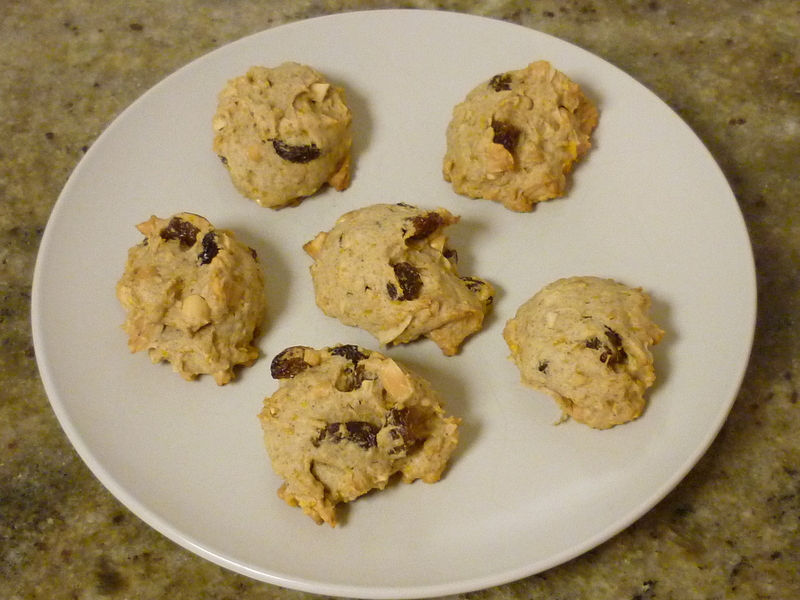 Plate of Biscuits  - Spiced Persimmon Biscuits
