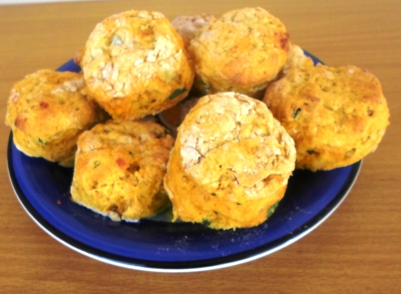 Plate Of Curry Scones  - Curry Scones