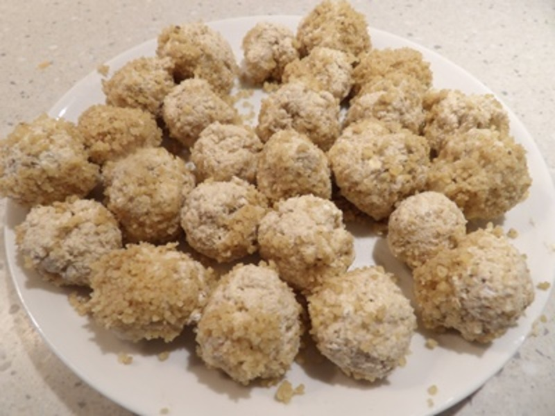 plated,banana,bliss,balls