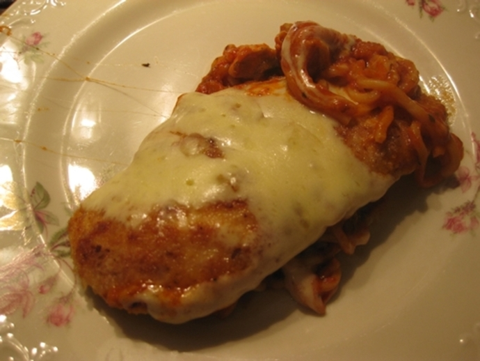 chicken,parmigiana,mozzarella