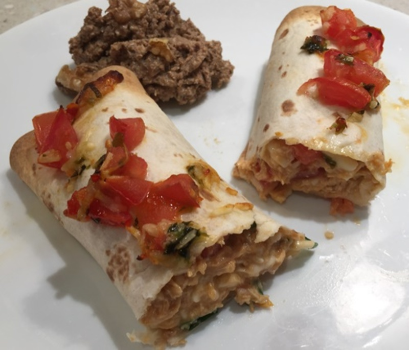 plated,enchiladas,with,pate