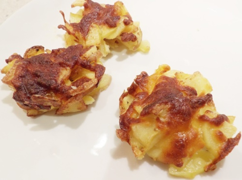 mixing,cheese,and,bacon,pieces,for,drumsticks