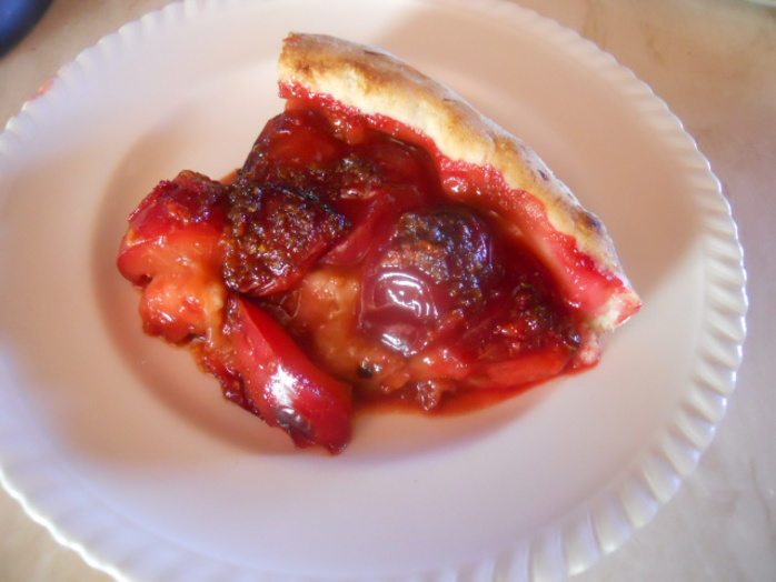 plum pizza